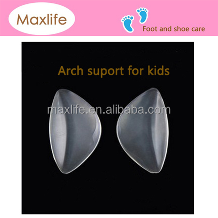YG2210-A silicone gel arch support/foot wedge shoe insert