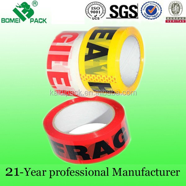 Bopp Custom Printed Adhesive Tape With Personalised Brand Logo