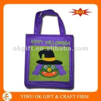 [HOT SALE] LIGHT UP HALLOWEEN FELT BAG (eco-friendly)