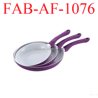 Kitchenware china multi color optional ceramic frying pans as seen on tv cooker