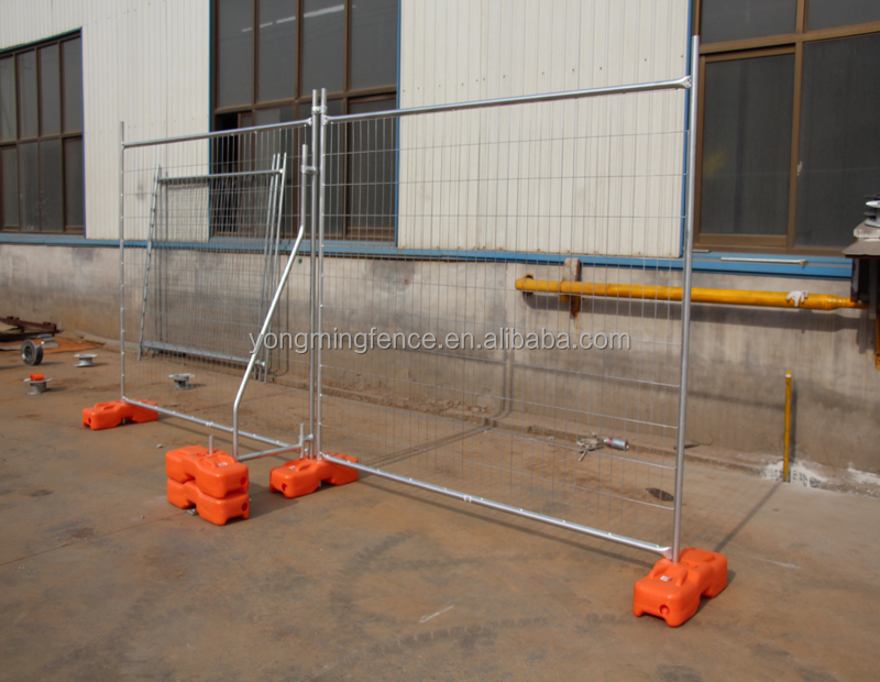 Heavy duty portable galvanized temporary fence panels for construction zone(china factory)