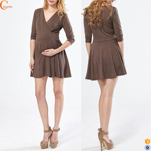 Sexy pregnancy woman maternity clothes mini summer dress korea