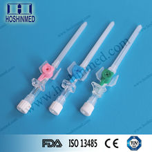 OEM For single use arterial injection-type iv cannula with 3-way