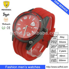 Golf watch with certificate of invention patent