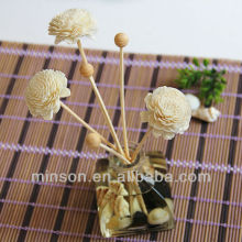 Handmade Natrual Sola Flower with Rattan Sticks for Reed Diffuser Various Colors