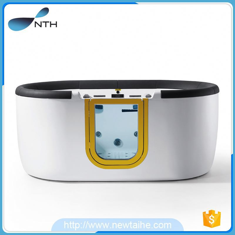 NTH best selling products environmental restroom deodorant waste freestanding hydro japan sex massage tub with door