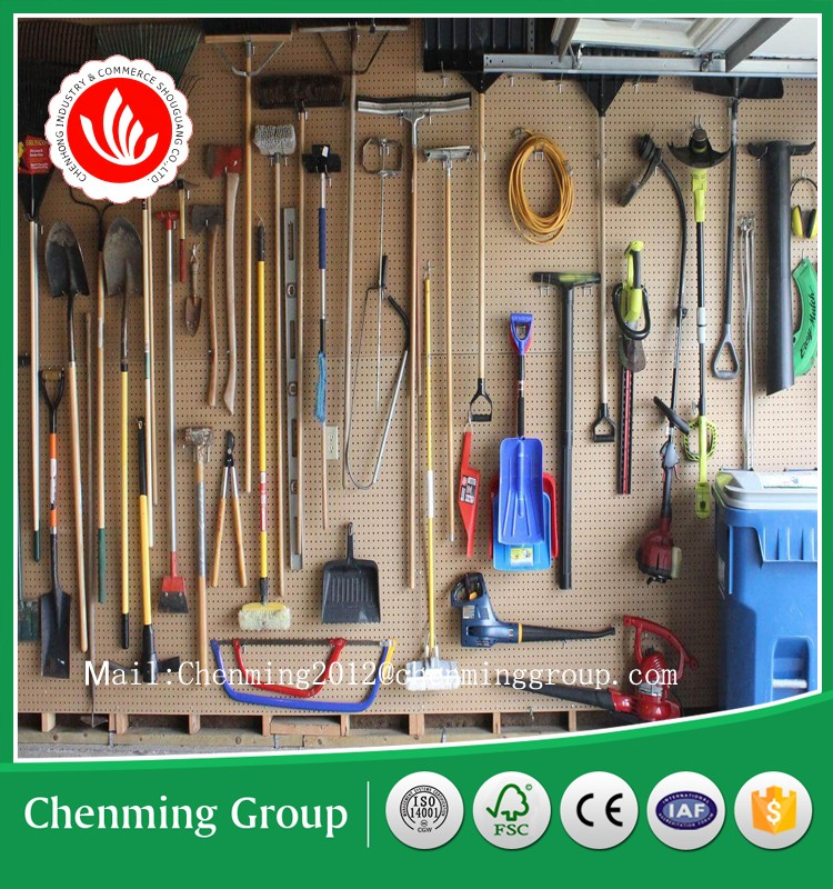 High quality melamine MDF Hole Pegboard for display