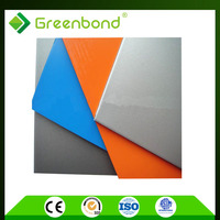 Greenbond attractive discount golden/silver mirror finished acrylic material