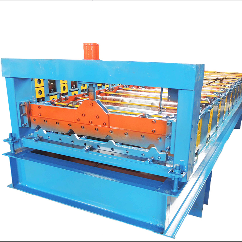 durable high quality metal roofing sheets cold roll forming machine double deck rolling machine