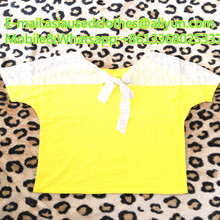 Bright short sleeve T-shirt used dropshipping men clothing with big discount