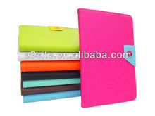 Colored PU Leather Stand Case For iPad Mini