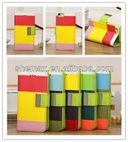 2014 New product hot selling wallet PU leather case for samsung galaxy s5