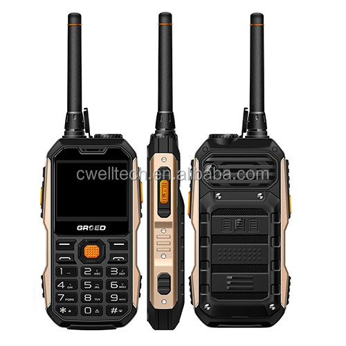 GRSED YAX8800 2.4 inch 8800mAh Big Battery mobile phone with walkie talkie
