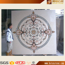 Water Jet Machine Tile Marble Cutting Waterjet Cutting Medallion Design