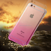 Wholesale back case for iphone 6 plus transparent tpu / 5.5 inch silicon PC TPU Case /bulk cheap Mobile PC Case
