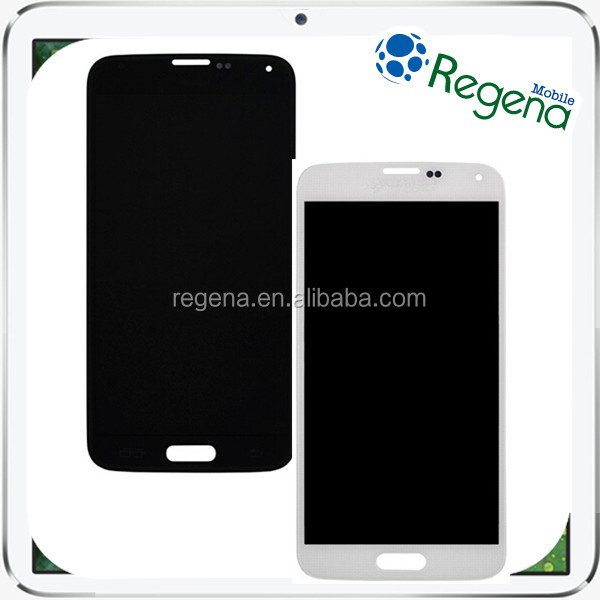 100% brand new replacement lcd screen for samsung galaxy s5 I9600 factory price