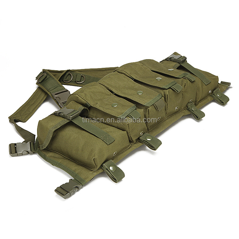 Military Gear Tactical Vest Airsoft Tactical Miliary Molle Style Chest Rig