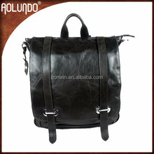 Girls Genuine Leather Working Backpack
