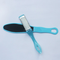 Foot Grinding Device Pedicure Foot File Brush With Long Plastic Handle