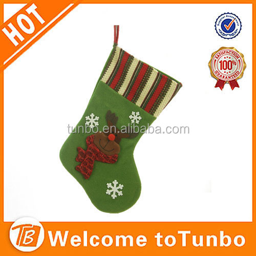 america christmas decoration fleece fabric new fashion Christmas Stockings