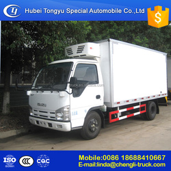 ISUZUs Japanese used refrigerated van and truck,refrigerated cargo van for sale