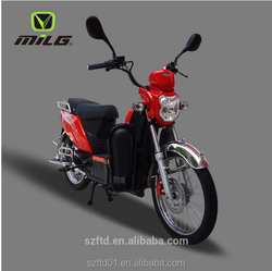 2016 Hot Sale Fashion Design Powerful Motor Green Adult Electric Motorcycle 2000W
