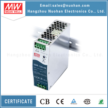 Meanwell SDR-120-48 48v 2.5a 120w din rail power supply