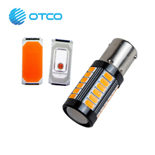 Hot Products T20 ba15s 5730 Car led Auto Turn Light High Lumen 1156 Signal led Amber