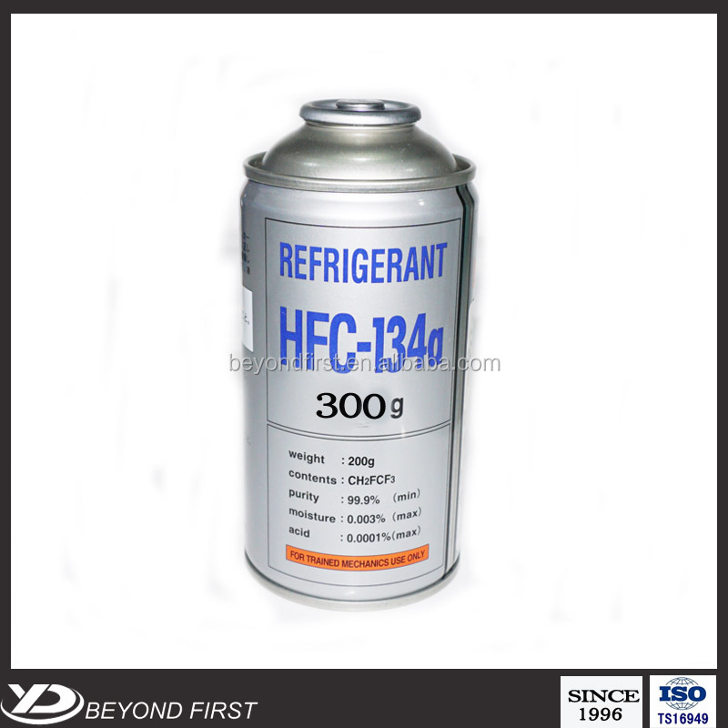 Refrigerant Gas R134a With High Purity