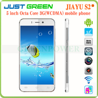 "Jiayu S2 Android 4.2 build-in 3g 2 camera 2 sim card MTK6592 Octa Core 2gb/32gb 5"" 1920*1080 mobile phone sale"