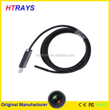 5.5mm-2M mini handheld usb ear inspection camera digital video 6LED