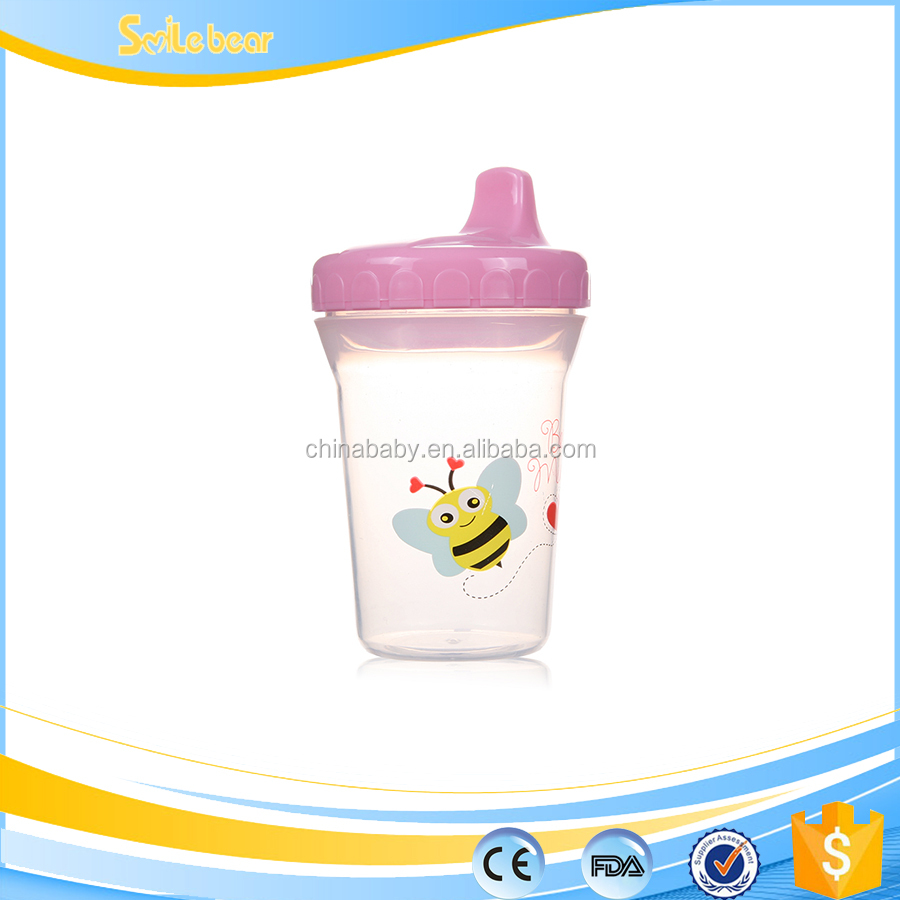 baby trainer cup feeder cup with silicone sippy cup lid