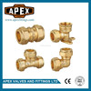 High Quality Brass Compression Fittings For