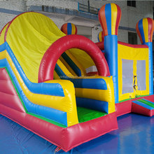 Inflatable Bounce House with Slide, High Quality Inflatable Jumping Castle for kids, Combos for Amusement Park