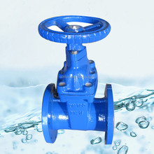 Water Treatment PN16 Ductile Iron Waste Gate Valve DN100