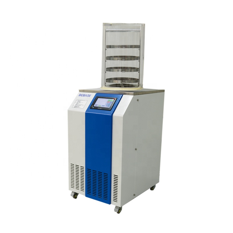 BIOBASE China Factory Direct Sale BK-FD18S Industry Home Food Mini Lyophilizer/Freeze Dryer Price