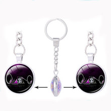 Personalized gift light double sided pendant keychain for keys movie jewelry motorcycle key holder