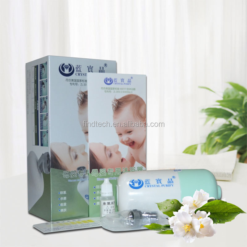 Hot sale shower filter chloride remover for baby and women
