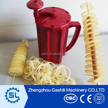 Small food processor machine tornado potato twister cutter