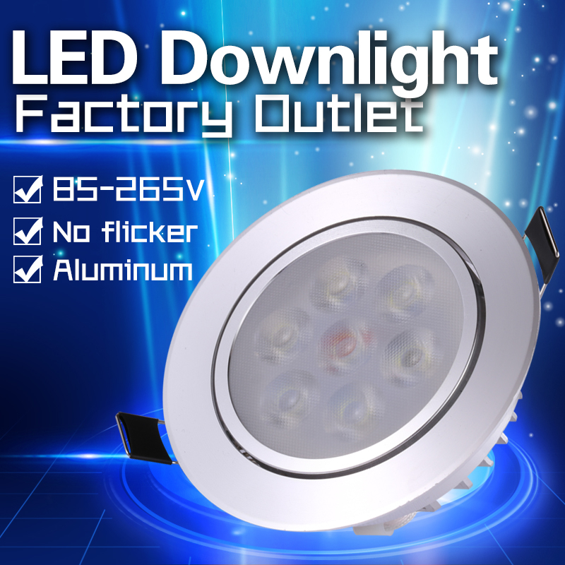 85-265V Surface Mount LED <strong>Downlight</strong> Housing 5W For Home Lighting Epistar LED Recessed Light <strong>Downlight</strong> Led Ceiling <strong>Downlight</strong> 5W