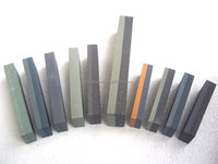 Combination green color sharpening stone