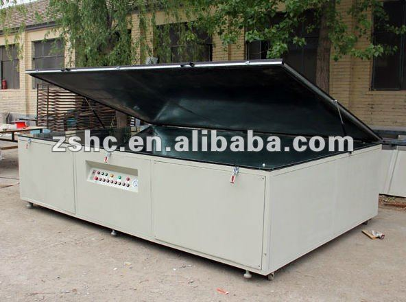 single side vaccum exposure machine for huge metal decoration plate