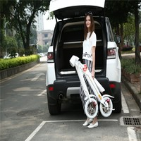 12'' ce baogl folding electric bike