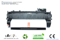 Popular replacement toner cartridges CE505X for HP printer
