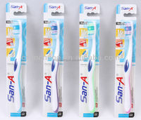 HOT San-A E-705 adult tooth brush with a tongue cleaner