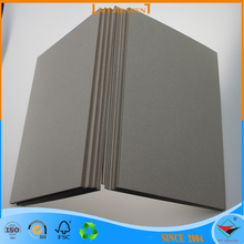 3mm laminated grey chip board/gray chipboard with strong stiffness