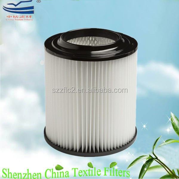 Custom cylinder vacuum cleaner HEPA filter H12