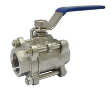 Handles Type Stainless Steel Self Closing Threaded Ball Valve