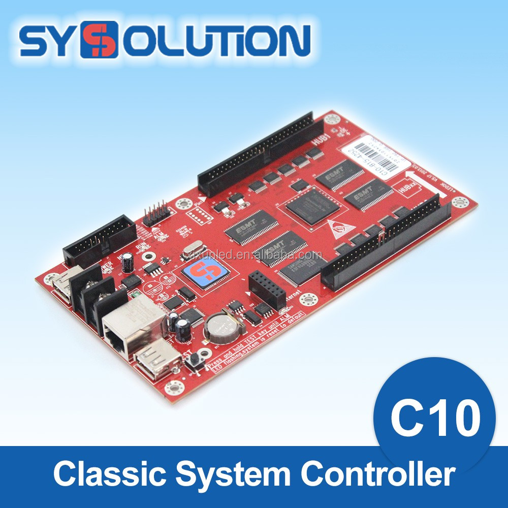 P10 Asynchronous Led Module Display Control Card Full Color Outdoor <strong>C10</strong>