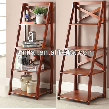 popular brown wall furniture MDF bookshelf